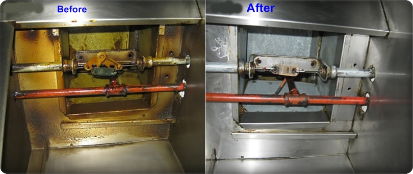 Kitchen Hood Exhaust Fan Duct Cleaning Nad Al Shiba We